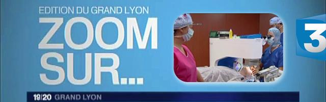 reportage france 3 centre laser vision lyon lasik myopie presbytie